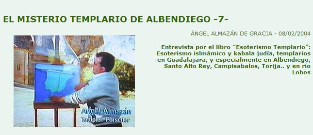 Esoterismo Templario, otra entrevista a Angel Almazán