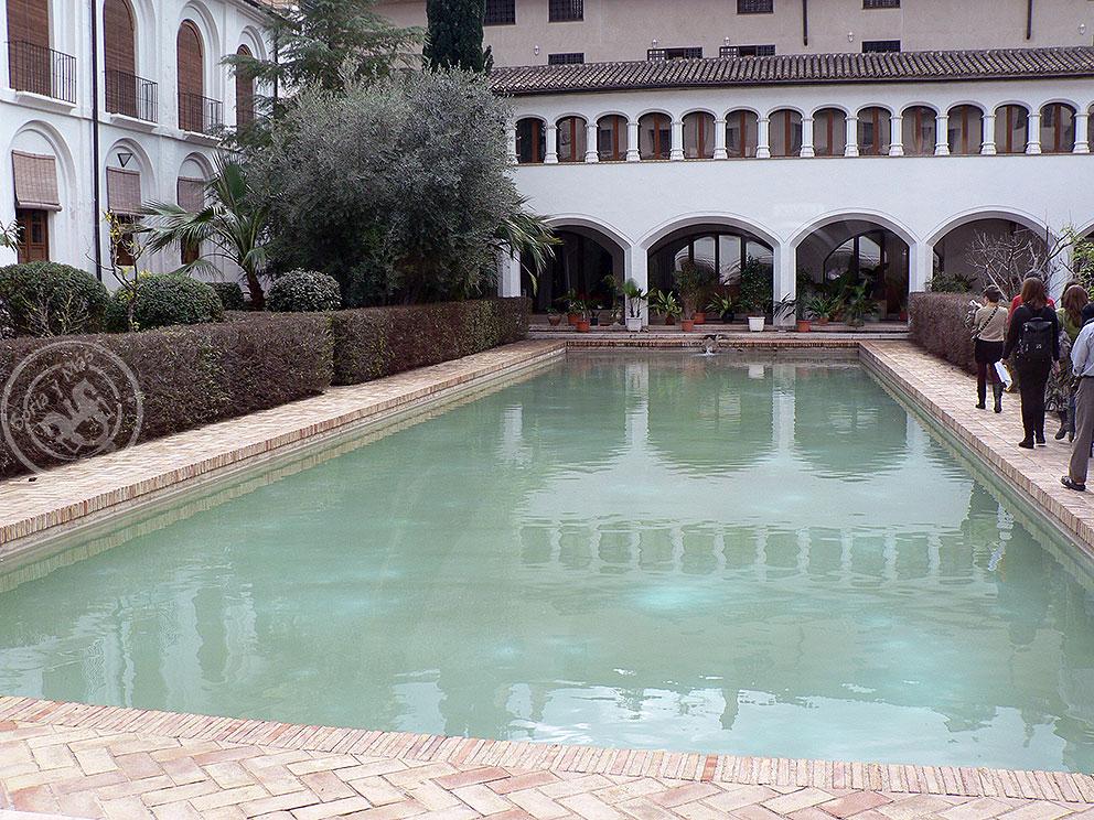 Patio andalusí del conento de Santa Clara, en Murcia