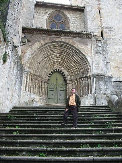San Pedro de Estella, Angel Almazan