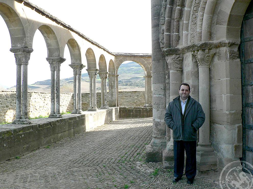 Una visita más a Eunate, 27 nov 2006