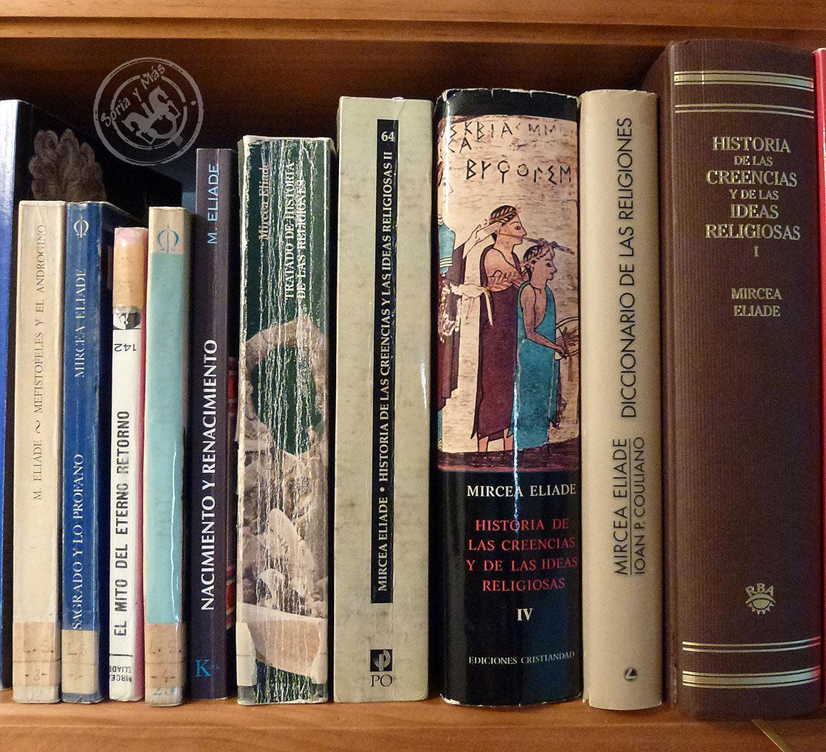 Libros-de-Mircea-Eliade