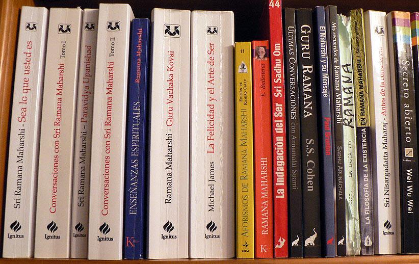 Libros de Ramana Maharshi
