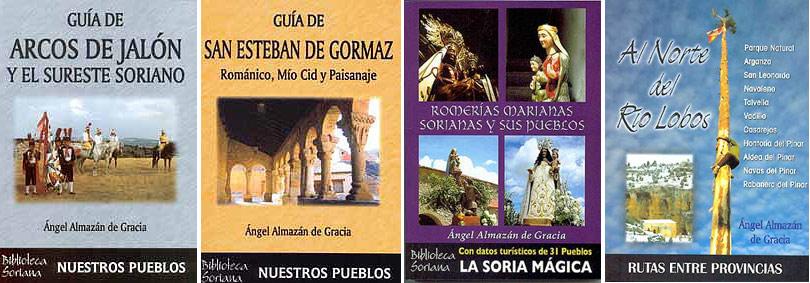 Turismo en Soria, libros de Angel Almazan