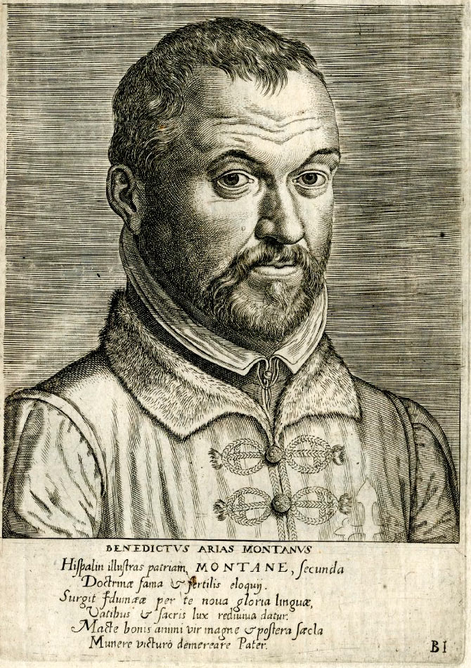 Arias-Montano--por-Pieter-Pourbus,-publicado-por-Philipe-Galle