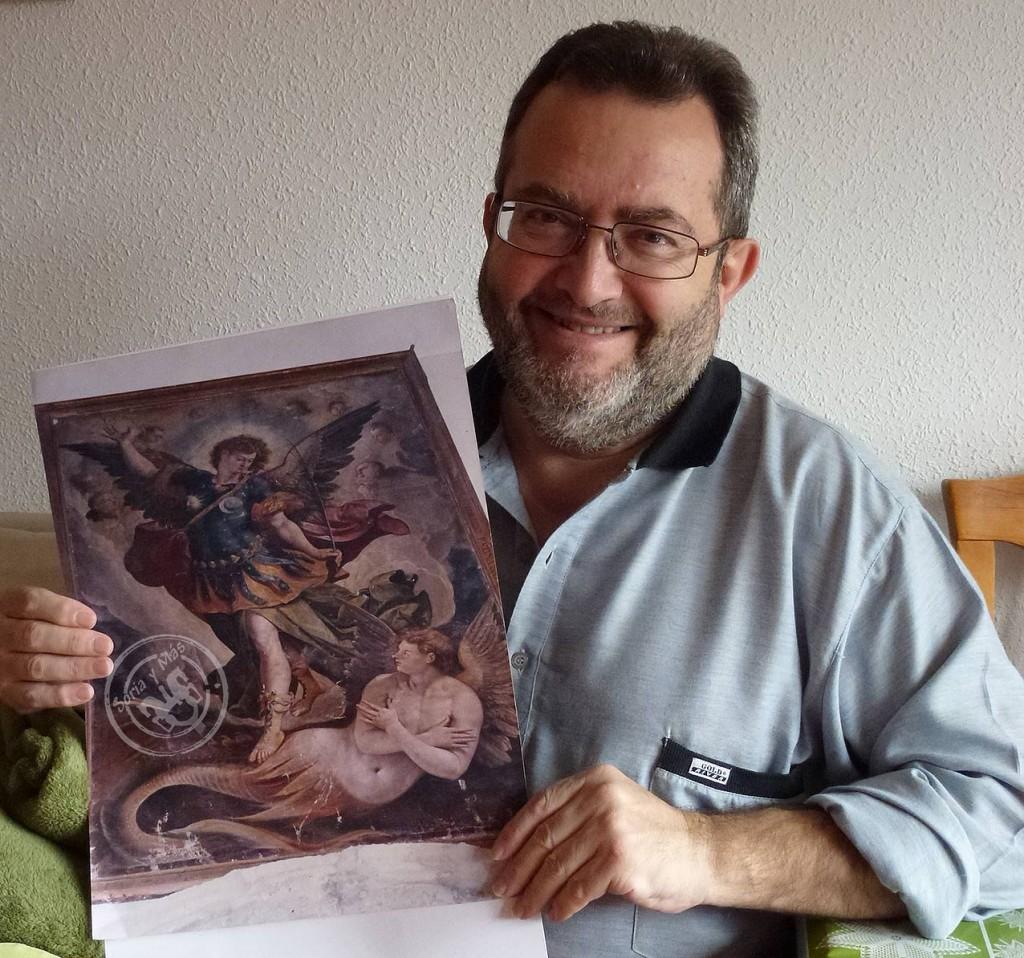 Angel Almazan y el cuadro luciferino-miguelarcangélico de Martín de Vos...