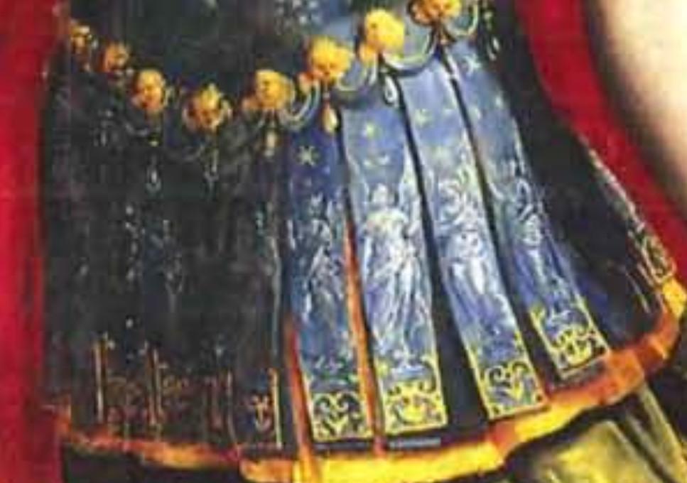 Detalle falda en San Miguel de Mexico