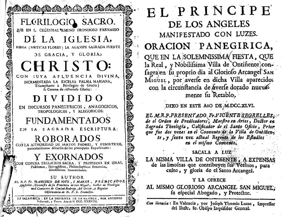Dos-libros-de-San-Miguel-del-siglo-XVIII