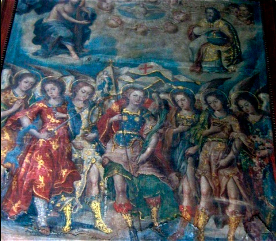 Los siete arcángeles (Mitla,-Oaxaca.-México)