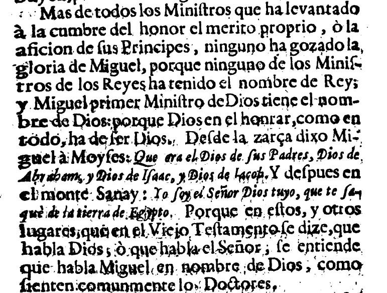 Presencia constante de San Miguel en el Antiguo Testamento  - Libro de Francisco García