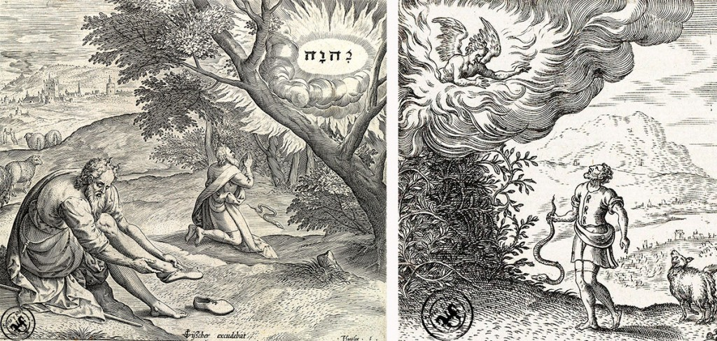 Zarza-ardiente-y-Nombre-de-Yahweh-ante-Moises