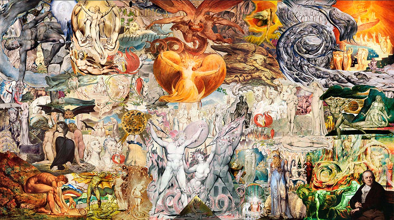 Collage-Obras-de-William-Blake