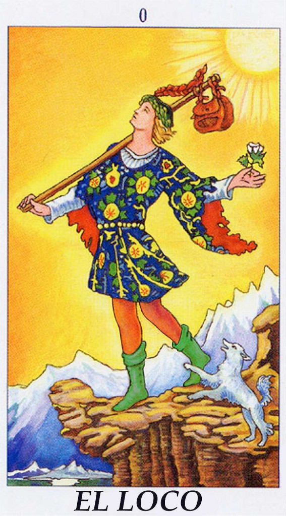El Loco, Tarot de Waite-Smith