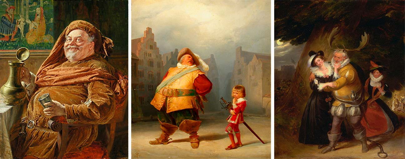 Falstaff-en-la-pintura