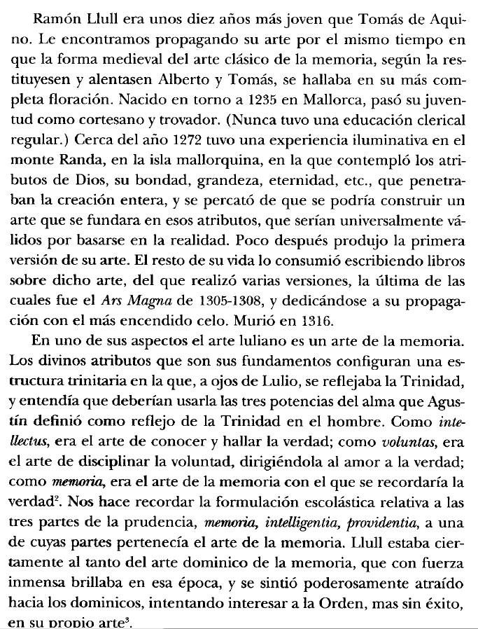 Ramon Llull y su Arte en Yates