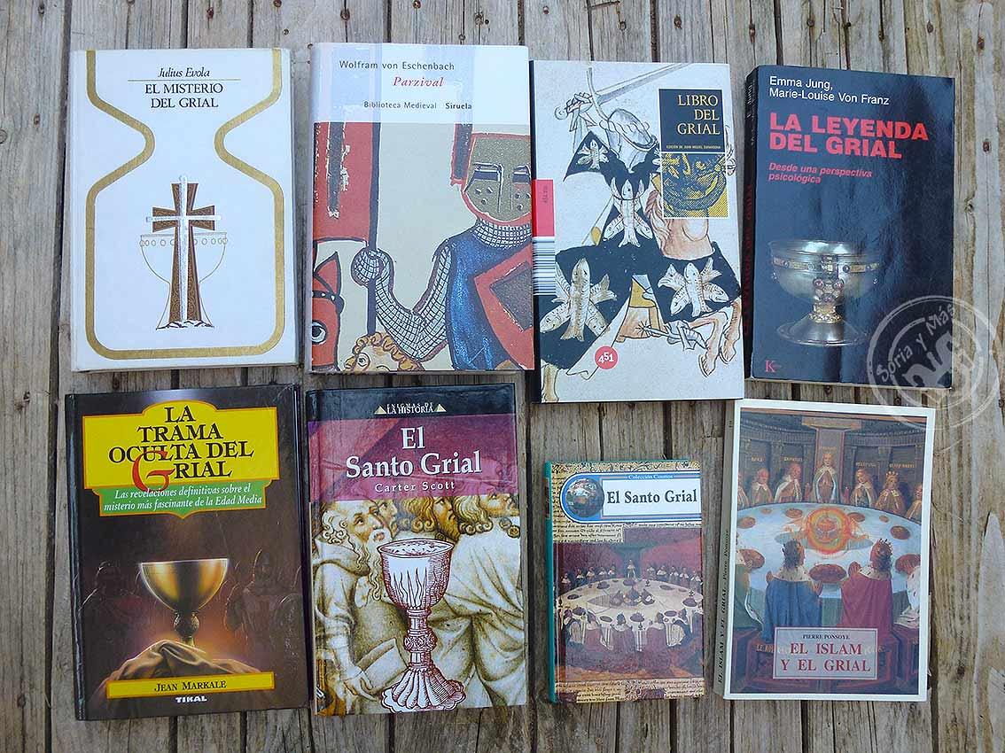 libros-sobre-el-Grial