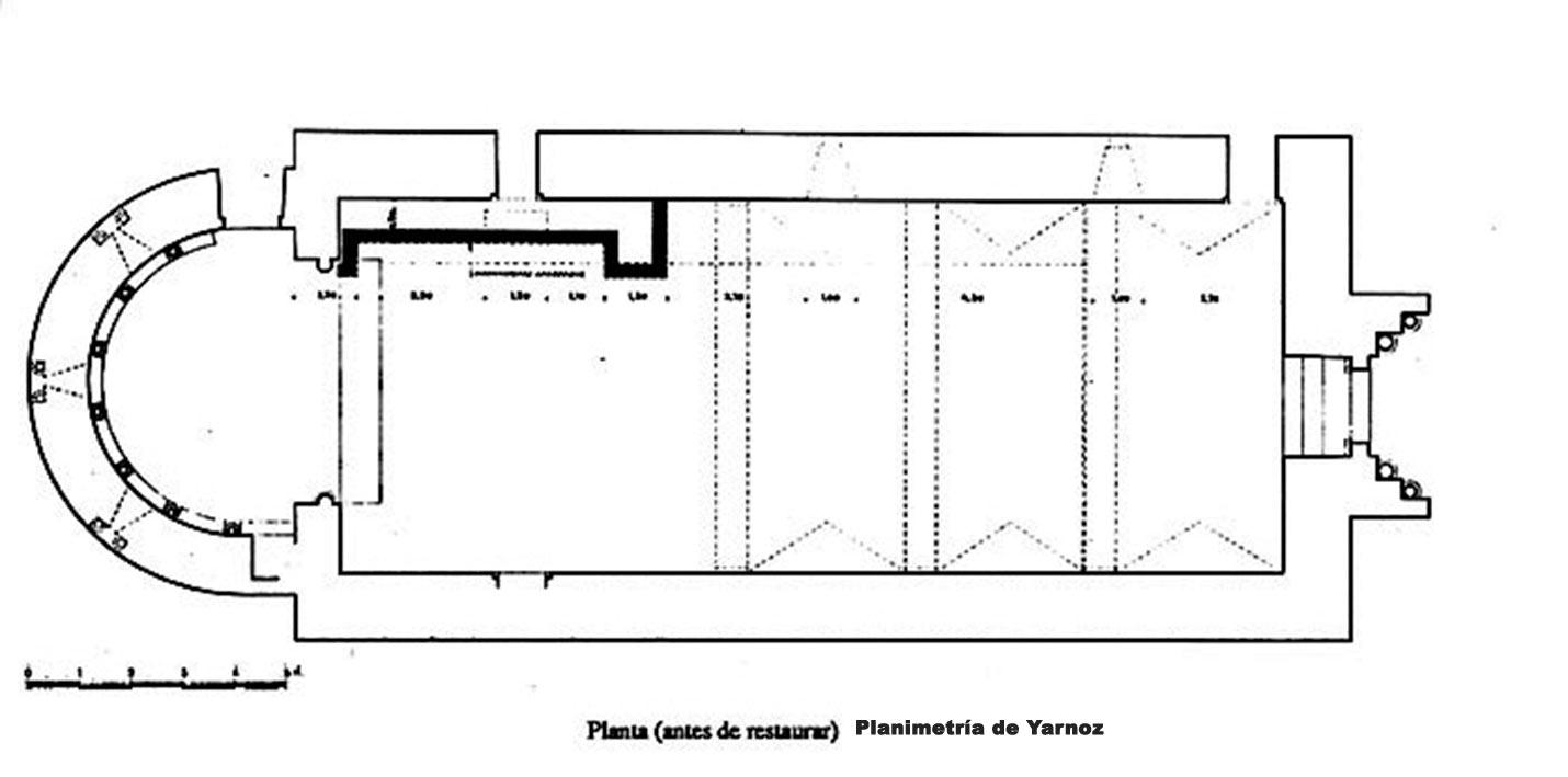 planimetria-de-santo-crisot-de-catalian-en-planta